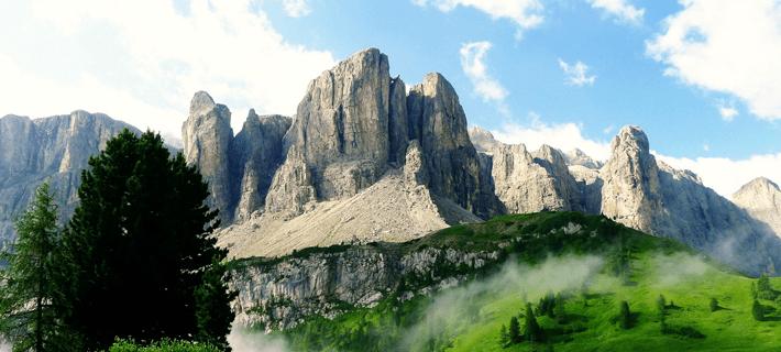 Названия гор, горных цепей, вулканов на английском языке