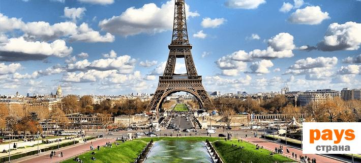 Страна на французском языке