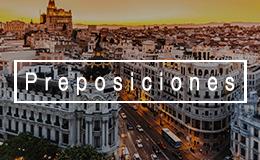Предлоги в испанском языке