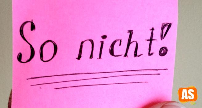 Отрицание nicht в немецком языке