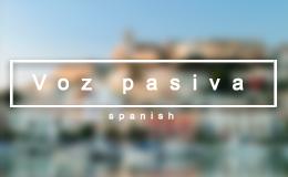 Страдательный залог в испанском
